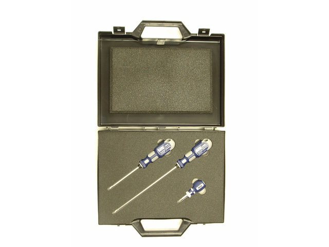 1 for 6 Screwdriver 3pc Gift Set - Standard, Long and Stubby - 1463GS ()