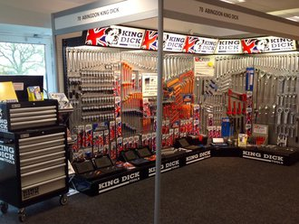 King Dick Tools display booth
