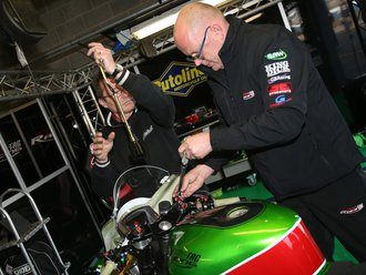 King Dick Tools in action - Motorbike Sponsorship