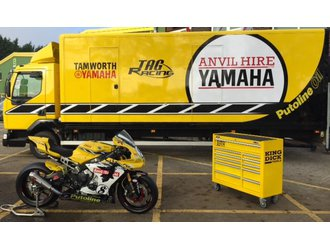 Anvil Hire Yamaha 2016 with King Dick Roller Cabinet