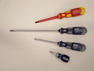 1 for 6 Screwdriver Range